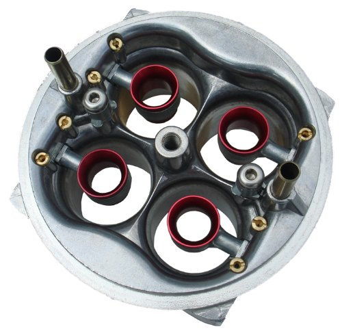 (Proform 67217 750 CFM Aluminum Square Bore Mechanical Secondary Annular Booster Carburetor Main Body with Gaskets)