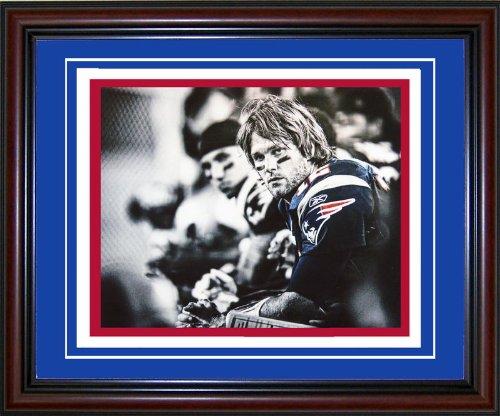 Tom Brady Unsigned Framed 8x10 Photo
