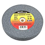 Forney 72400 Bench Grinding Wheel, Vitrified with 1-Inch Arbor, 60-Grit, 6-Inch-by-3/4-Inch