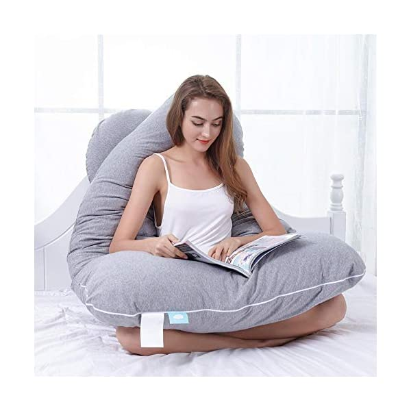 Best U Shaped Pregnancy Pillow with Removable Cover Online India