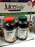 vegetable juice organic - Juicefestiv Combo Pack Organic Fruits and Vegetables in Capsules 120 Capsules Each (240 Total)
