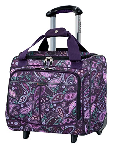 Ricardo Beverly Hills Mar Vista 16-Inch 2 Wheeled Tote, Purple Paisley, One Size by Ricardo Beverly Hills