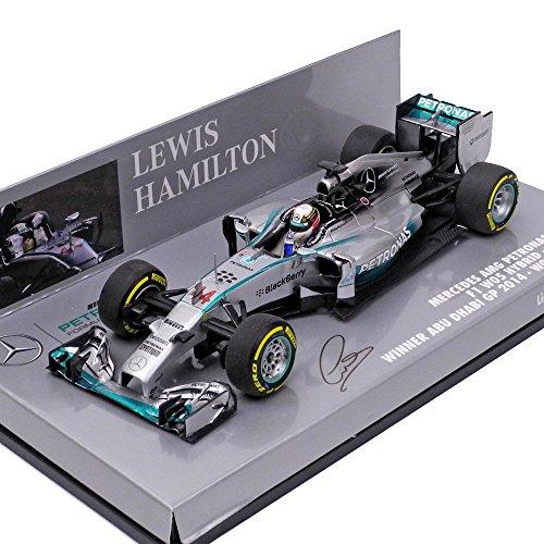 1/43 メルセデス AMG ペトロナス F1 チーム W05 ワールドチャンピオン 2014 L .ハミルトン 410140444