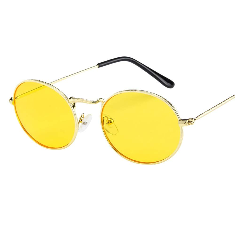 VECDY Gafas De Sol Ovaladas Retro De época Elipse Gafas Con ...