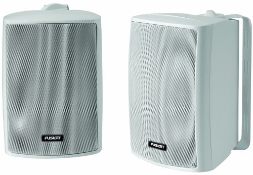 Fusion MS-OS420 Marine Compact Box Speakers (Pair) (Marine Electronics Box)