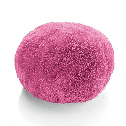 Brookstone Buzzy Orb Massaging Pillow- Pink