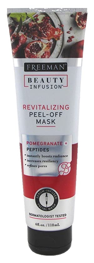 Freeman Beauty Infusion Mask Revitalizing 4 Ounce (Peptides) (118ml) (3 Pack)