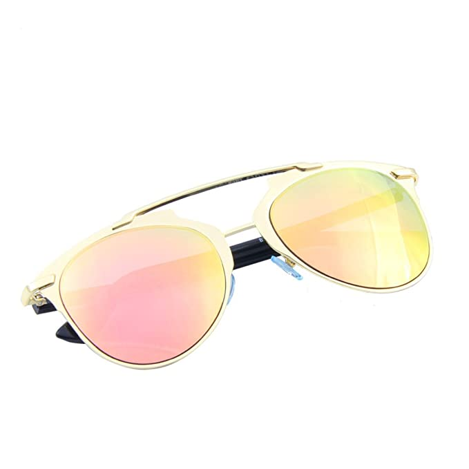 Wkaijc Männer Und Frauen Polarisation Farbfilm Mode Metall Persönlichkeit Kreativität Sonnenbrillen Sonnenbrillen,Grey