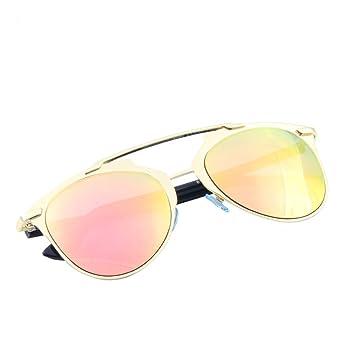 Wkaijc Blitz Hübsch Farbfilm Sonnenbrille Männer Und Frauen Mode Persönlichkeit Kreativität Komfort Sonnenbrille,Pink