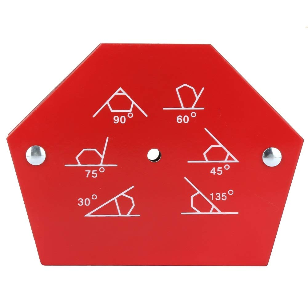 Welding Magnet Holder Delaman Multi-Angle Six Sides Welding Magnet Holder Arrows Magnetic Welder Fixing Tool Size : 25LBS