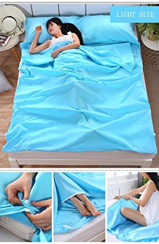 Amazon.com: Saco de dormir SLIN Lámina de viaje sábana de ...