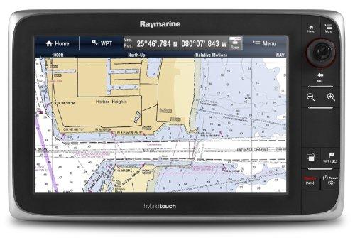 Us Coastal Charts (Raymarine e165 15.4-Inch Touchscreen Multi-Function Display with Lighthouse US Coastal Charts)