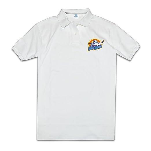 Amazon Com Orlando Solar Bears Logo Men S White Polo Shirts Novelty