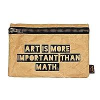 Estuche, cosmetiquera, bolsa de viaje Art hecho con papel reutilizado/reciclado