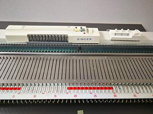 SK155 Singer/Silver Reed Bulky Chunky Punch Card Knitting Machine by SUNNY CHOI (Image #5)