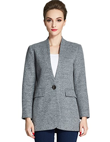 Product Review For Camii Mia Women S Single Button Up Wool