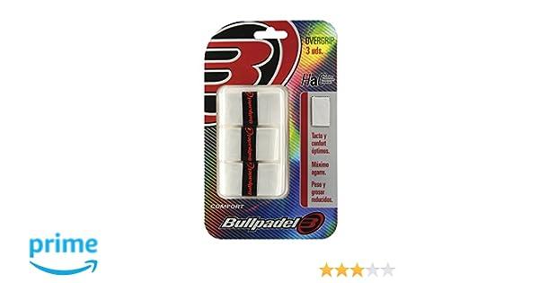 Bullpadel GB1200 - Pack de 3 overgrips: Amazon.es: Deportes y aire ...