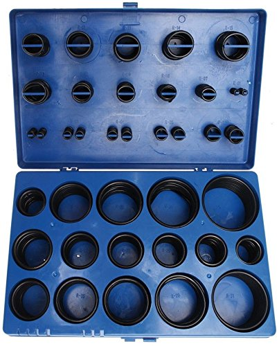 BGS Technic Pro+ 8061 Assorted O-Ring Set, 1/8-2-Inch Diameter, 419Pieces