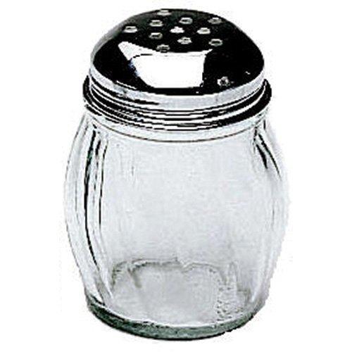 Value Series SK-RPF 6 oz. Cheese/Hot Pepper Shaker, Glass Base I Dozen