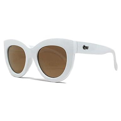 1186f3aca9e3d Amazon.com  Quay x Shay Jinx Sunglasses Cat Eye Frame Kitty Kitti Plastic  Matte  Clothing