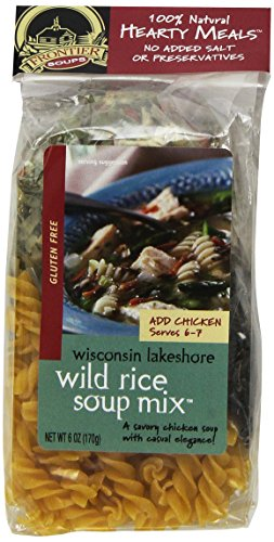Frontier Soups Hearty Meals Wisconsin Lakeshore Wild Rice Soup, 6-Ounce Bags (Pack of - Chicken Rice Wild Cream Of Soup