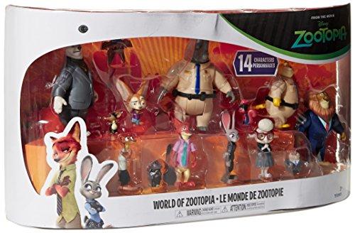Zootopia World Of Zootopia 14 Character Exclusive Playset