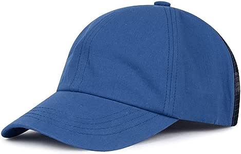 sdssup Gorra de Beisbol Moda Carta Gorra Hombre Azul Ajustable ...