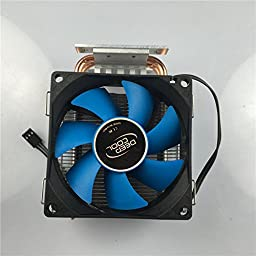 Led World Heatsink Copper Heat Pipe Cooling Fan +44mm 60 degree lens kits for 10-100W High Power LED