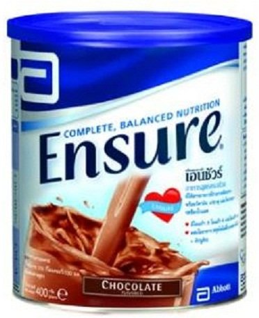 Ensure a Complete and Balanced Nutrition for Adults and Elderly Chocolate Flavored 400g [Wazashop]