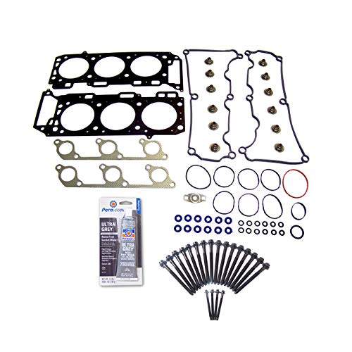 Head Gasket Set Bolt Kit Fits: 05-10 Ford Mustang 4.0L V6 SOHC 12v VIN N/Cu. 245 ()