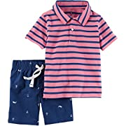 Carter's Baby Boys' 2-Piece Shirt And Short Set 3 Months