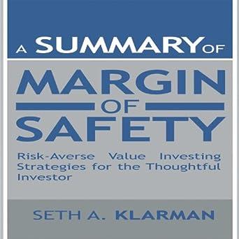 Margin Of Safety Seth Klarman Ebook