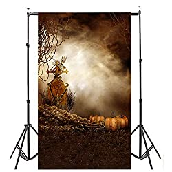Dirance Halloween Theme Photo Backdrops 3x5ft, Photo Backgrounds for Photo Studio Weddings Party