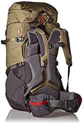 The North Face Terra 55 Backpack Youth (MOUNTAIN MOSS/POMPEIAN RED)