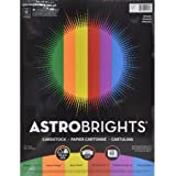 """Astrobrights Cardstock 8.5""""x11"""", Primary 60 Pages"""