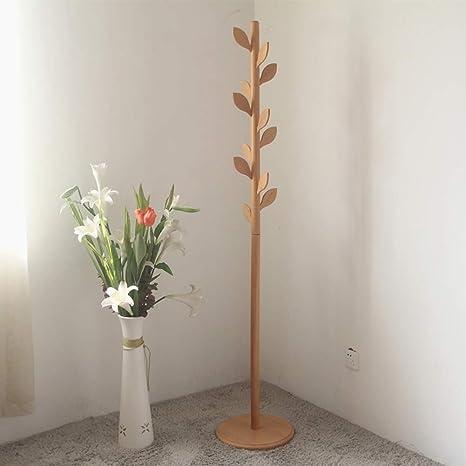 Perchero, Hojas Creativas del Dormitorio de Madera sólida ...