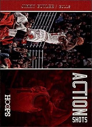2017 Panini Donruss Optic Fast Break Blue 86 Jimmy Butler Minnesota Timberwolves