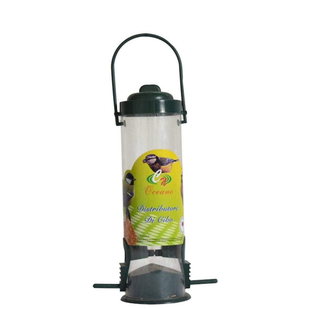 Royalr Atossici Uccelli 7.5x14x29cm PVC Maniglia Feeder Etero Sided Finch aggrappato Appollaiarsi Alimentatori