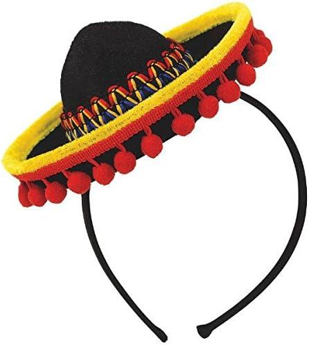 Amazon.com: Amscan Cinco De Mayo Fiesta - Sombrero de fiesta ...