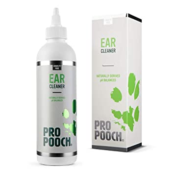 Pro Pooch Dog Ear Cleaner (250 ML)  Stop Itching, Head Shaking & Smell  Vet  Recommended