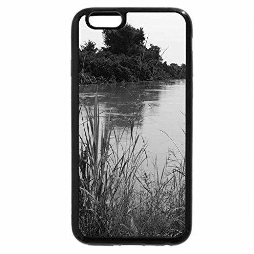 iPhone 6S Case, iPhone 6 Case (Black & White) - Mekrou River