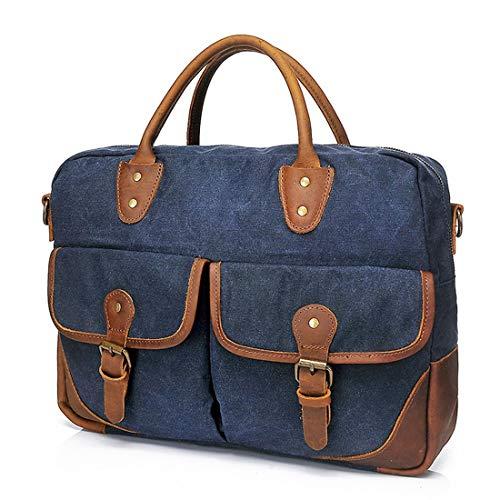 Sesgo Lona paquete Solo Lona La Hombro Negocio Viaje De Bolso Blue Aptitud Linannav Blue Del Bolsa color Viaje Inclinado Multifunción RZqn4P