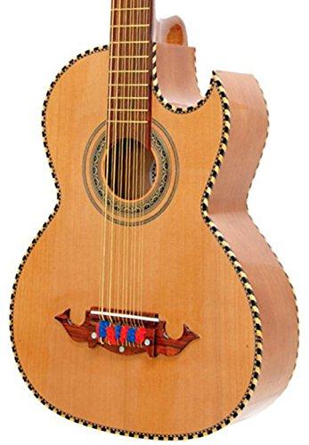 Paracho Elite Guitars Victoria 12 String Bajo Sexto (Bajo Sexto Guitar String)