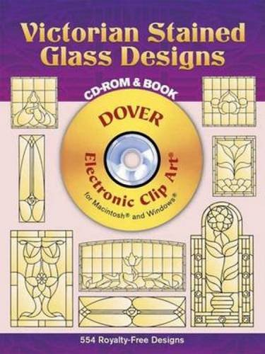 Victorian Stained Glass Designs (Book & ()