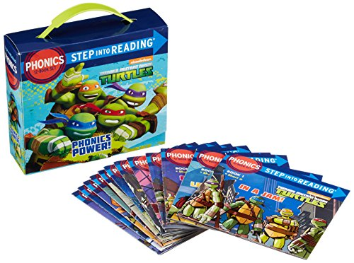 [Phonics Power! (Teenage Mutant Ninja Turtles) (Step into Reading)] (Ninja Turtles Turtles)