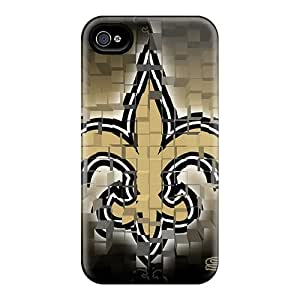 New Cute Funny New Orleans Saints Case Cover/ Iphone 4/4s Case Cover