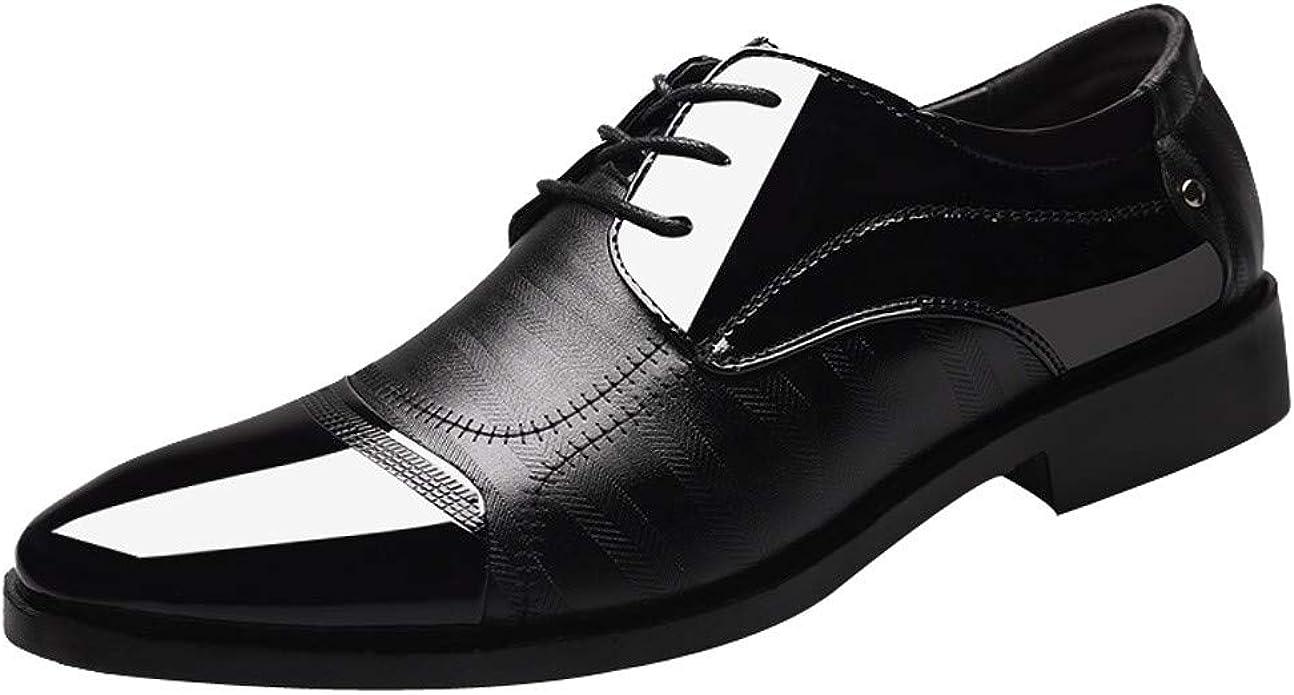 Emerayo Men's Business Casual Shoes Men