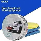 WEICA White Car Wax for White Car Special Wax Scratches Cover Waterproof Wax Anti-Fade Car Care Wax...