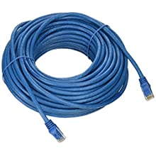 Monoprice Entegrade Series Cat6 23AWG CMP Plenum rated Ethernet Network Patch Cable, 75ft Blue