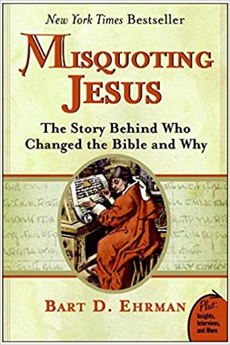 Image result for misquoting jesus